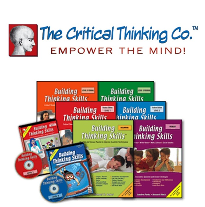 critical thinking co homeschool Among the excellent resources from the critical thinking company is the mind benders series of workbooks each 32 to 48 page workbook is self-contained with teaching suggestions and instructions in the front and detailed solutions in the back.