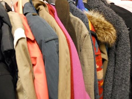 Photo- Coats for Hypothermia Shelter