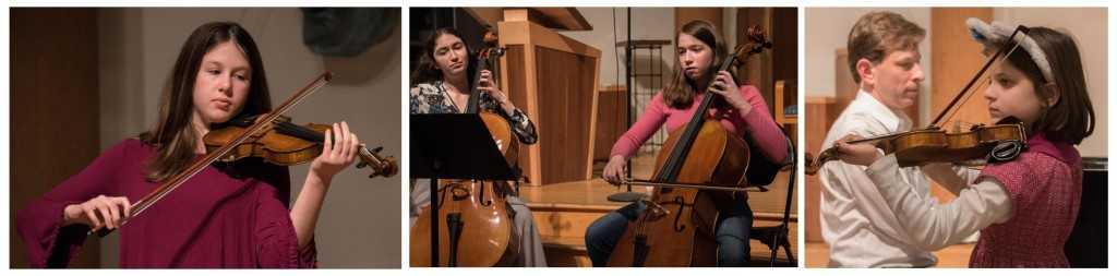 Homeschool String Orchestra Photo Strip