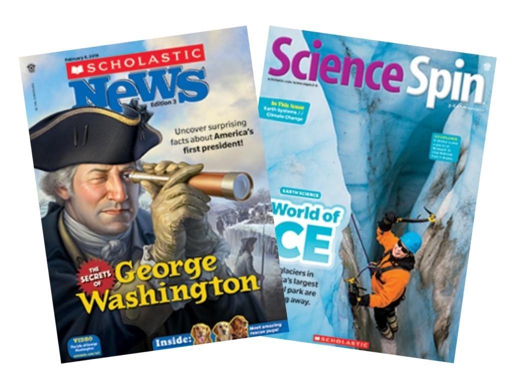 2020-21 Scholastic News & Science Spin, Ed. 3 (3rd grade) - Compass Homeschool Classes